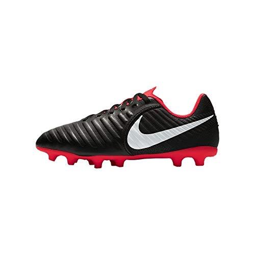 Nike JR Legend 7 Club FG, Zapatillas de fútbol Sala Unisex niño, Multicolor Black/Pure Platinum-lt...