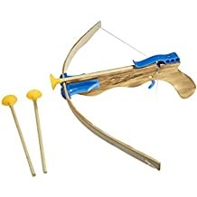 Juguetutto - Ballesta Flechas Ventosa - Azul - Juguete de madera