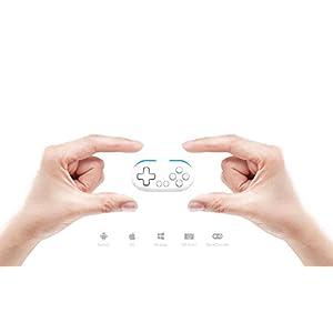 QUMOX 8bitdo FC30 Zero Bluetooth Controller Gamepad