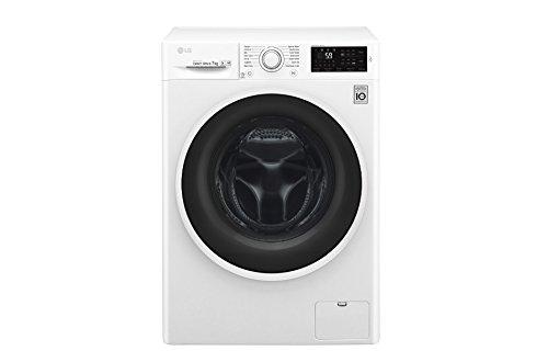 LG F4J6QN0W Libera installazione Carica frontale 7kg 1400Giri/min A+++-30% Bianco lavatrice