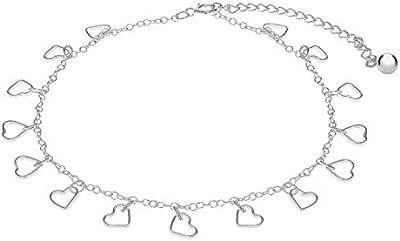 Tuscany Silver 8.29.4406 - Collar de plata, 28 cm