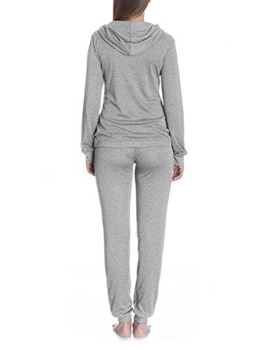 Bellybutton Junia - Sweatshirt 1/1 Arm - Sweatshirt à capuche maternité - Femme Grau (grey melange italy 8110)