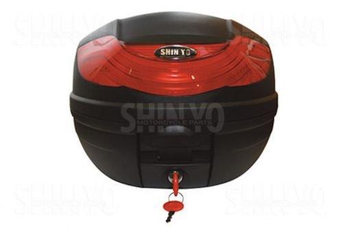 Topcase Case Koffer TORINO 32 l für Roller u. Motorrad schwarz