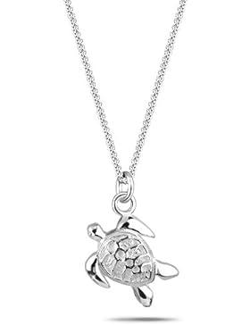 Elli Damen-Kette mit Anhänger Schildkröte 925 Sterling Silber 0105481211_45