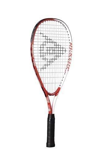Dunlop Spaß Mini Squash Schläger Gekürzter Rahmen Kinder Starter Spiel Schläger - Rot