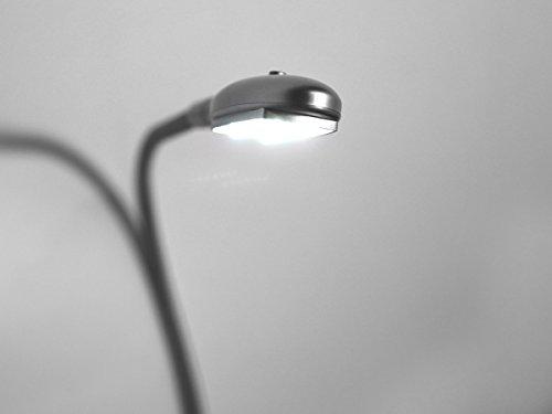 moebel-eins LED-Beleuchtung für Boxspringbett 2er Set Alu-farbig