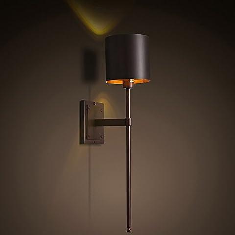 Industrie Design Design Retro Eisen Schlafzimmer Bettseite Wandlampe Kreative Stylische
