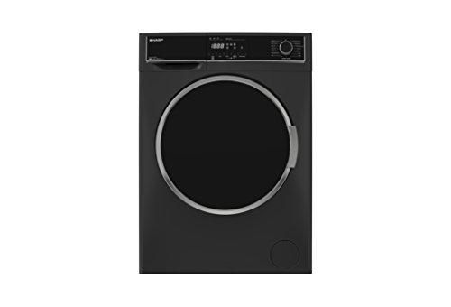 Sharp ES-HFH9148A3 A+++ Rated Freestanding Washing Machine - Dark Silver