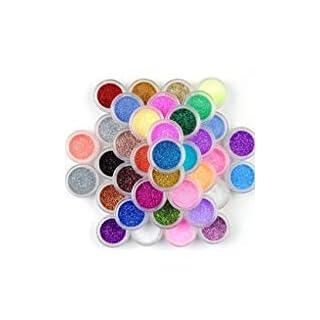 45 Color Nail Art Makeup Decoration Glitter Dust Powder