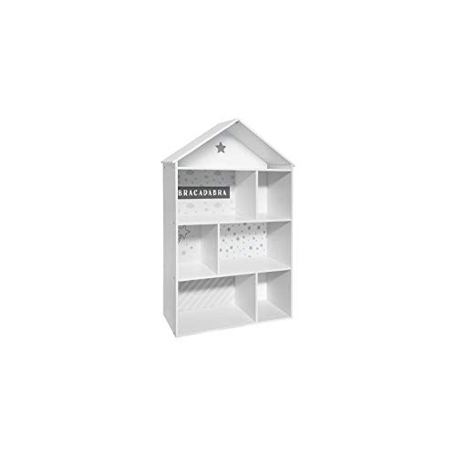 Meuble Maison 7 cases Grise Atmosphera for kids