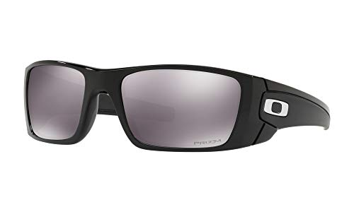 Oakley Herren Fuel Cell 9096j5 Sonnenbrille, Mehrfarbig (Polished Black), 60