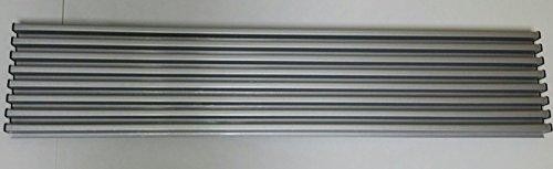 578Y21 - Griglia di aerazione frigo e forno, 8 elementi, Inox