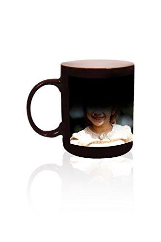 ANJALIS Black Color Changing Magic Photo Mug - Customized or Personalized With Photo