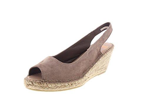 FRED DE LA BRETONIERE - Espadrille Heel 153010011 grey, Taille:42