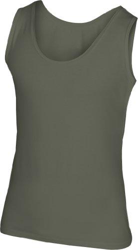 Trägershirt 'TasTy' Khaki