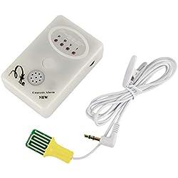 Heraihe 3-in-1-Multimodi-Bettnässen Enuresis-Alarm Effektives Bettnässen-Behandlungssystem Minicomputersteuerung Töpfchen-Trainingsgerät