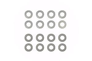 Tamiya 300054589-Juego de Conos diferencial Shim, 0,2/0,3mm, Accesorios de construcción, 4Unidades