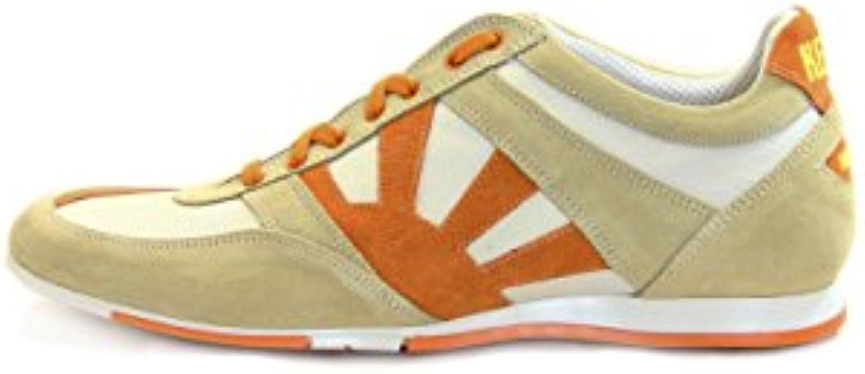 Kejo scarpa uomo scarpe scarpe scarpe da ginnastica pelle Coloreeee rosso  1221b0 3573f416a11