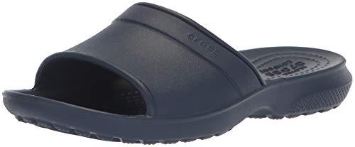 Crocs classic slide kids, sandali a punta aperta unisex-bambini, blu (navy), 33/34 eu