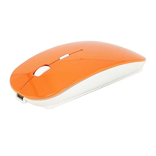 NoyoKere Mode ultradünne Dual Mode Bluetooth Funkmaus 2,4 GHz + Bluetooth 4,0 1600 DPI Ergonomische tragbare optische Mäuse