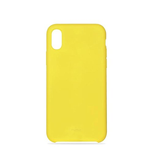 PURO Icon Custodia per iPhone X, Giallo