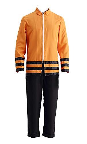 Naruto Kostüm Tails 4 - Chong Seng CHIUS Cospaly Costume Hidden Leaf Village Shinobi Uzumaki Naruto Outfit Ver 10