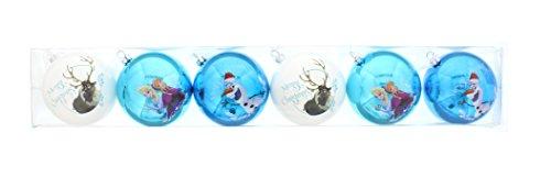 6 Weihnachtskugeln Die Eiskönigin-Völlig unverfroren 8cm