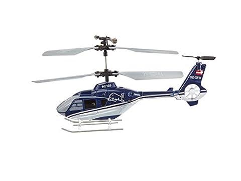 Revell Control RC Helikopter im Design der Flying Bulls, ferngesteuerter Hubschrauber für Einsteiger, 2,4 GHz Fernsteuerung, einfach zu fliegen, Gyro, LED-Licht, USB-Ladegerät - Eurocopter EC135 23956