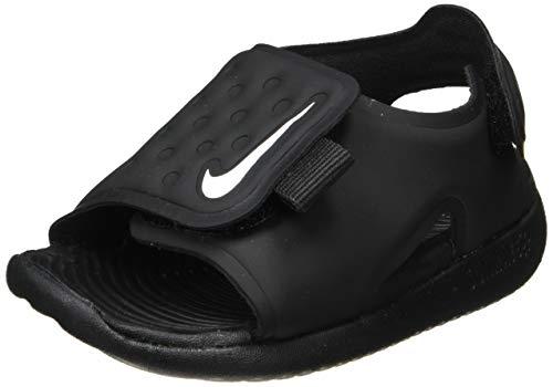 Nike Sunray Adjust 5, Sandali Ragazzi, Nero (Black/White 001), 21 EU