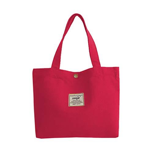 Damen Umhängetasche Taschen Shoulder Bag Handtasche Schultertasche Satchel Schulter handbag Rucksack,Segeltuch-feste Münzen-Geldbeutel-beiläufige Mittagessen