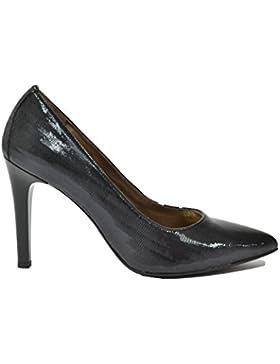 Nero Giardini Decolte' scarpe donna nero 6391 elegante A616391DE