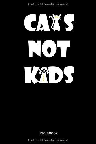 Hunde Kostüm Mensch - Cats Not Kids Notebook: Kariertes Katzen Freunde Notizbuch oder Tagebuch für alle Tierliebenden Menschen