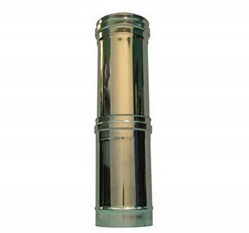 simple tube WALL CHEMINEE dn 80 télescopique inoxydable de l'érable de l'élément d 'combustion 316 à paroi unique