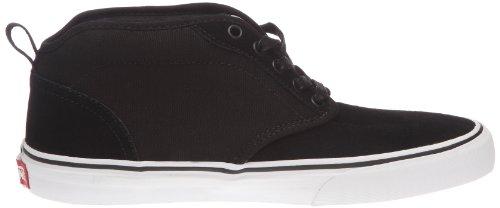 Vans M ATWOOD MID VNJP5H4 Herren Sneaker Schwarz ((Combi) black/white)