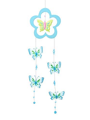 Mobile Joli Papillon Rose pailleté