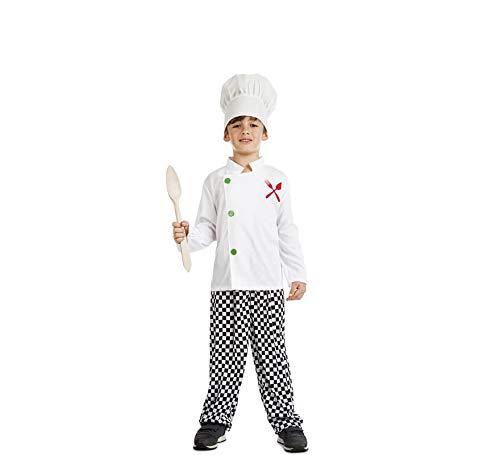 Car&Gus Disfraz de Cocinero para niño