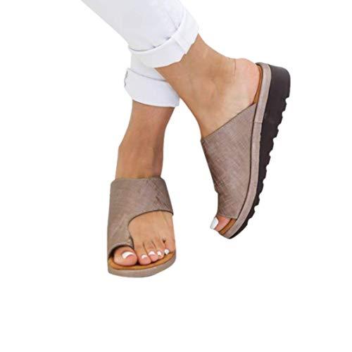 LANSKRLSP Donne Comfy Piattaforma Sandalo della Spiaggia di Estate di Viaggio Scarpe di Moda Sandali da Donna Comode Scarpe 35-43