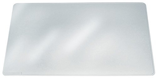 Durable Duraglas Transparent Desk Pad, 15.75 x 20.75 Inches, Clear (DBL711219) by Durable (Clear Desk Pads)