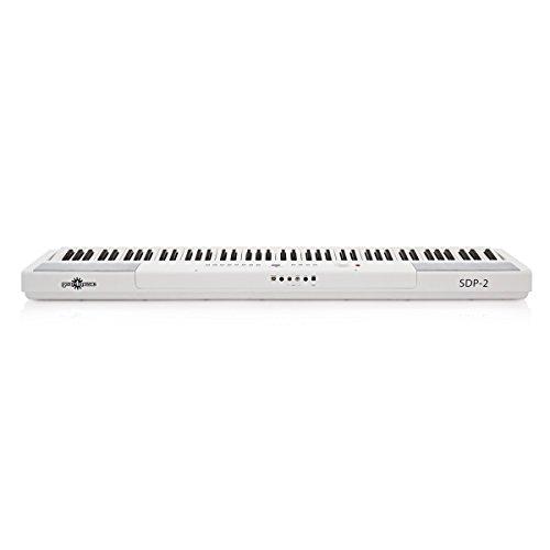 SDP-2 Stage-Piano von Gear4music + Komplettset weiß - 4