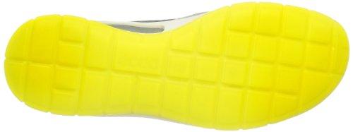 ECCO Agnes Steel/Warm Grey Firefly/Basalt, Sneaker Donna grigio (Grau (STEEL/WARM GREY))