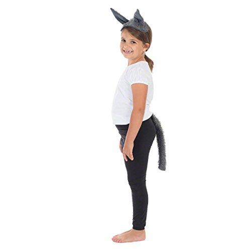Unbekannt Charlie Crow Wolfs Ohren und Schwanz für Kinder 3+ Jahre.