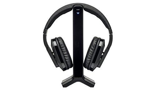 MEDION E69288 Digitale Funkkopfhörer (Over Ear, Wireless, 2,4 GHz, 3,5 mm Klinke, Reichweite 20 m, Cinch, 20 Hz - 20 kHz, Akku) schwarz