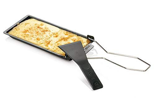 BOSKA Cheese Barbeclette Explore Raclette für den Grill, zum Grillen von Käse, Antihaftbeschichtung, Anthrazit, ca. 17 cm, 852032