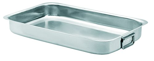 Artame ART19240 Plat à Four 40x27x7cm Compatible Tous Feux Dont Induction INOX 18/10, 18 cm