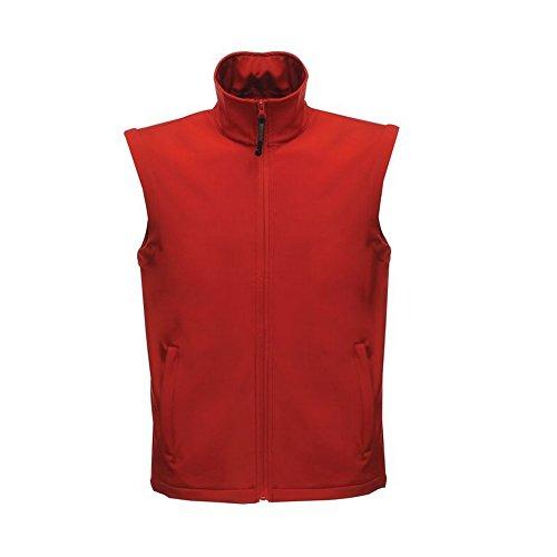 Regatta Professional Mens Classic Softshell Bodywarmer Gilet Seal Grey