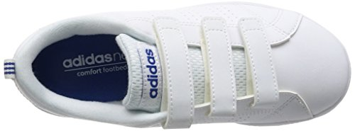 Adidas VS Advantage Clean Jr ftwr white/ftwr white/blue