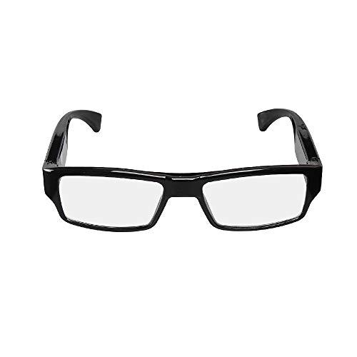 [Verbesserte Version] FHD versteckte Kamera-Brille, Video-Loop-Aufnahme, Snapshot, Mini-Digitalkamera, USB-Ladegerät