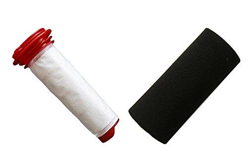 Green Label \'Aufkleber mit Microsan Stick Filter-Kit für Bosch Athlet bch6zooo Kabelloser Staubsauger/01(mit 00754175, 00754176)