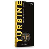 RhinoMed Turbine Lote de 3 pinza nasales de ayuda a la respiración, pack básico