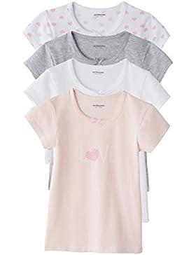 VERTBAUDET Lote de 4 camisetas d